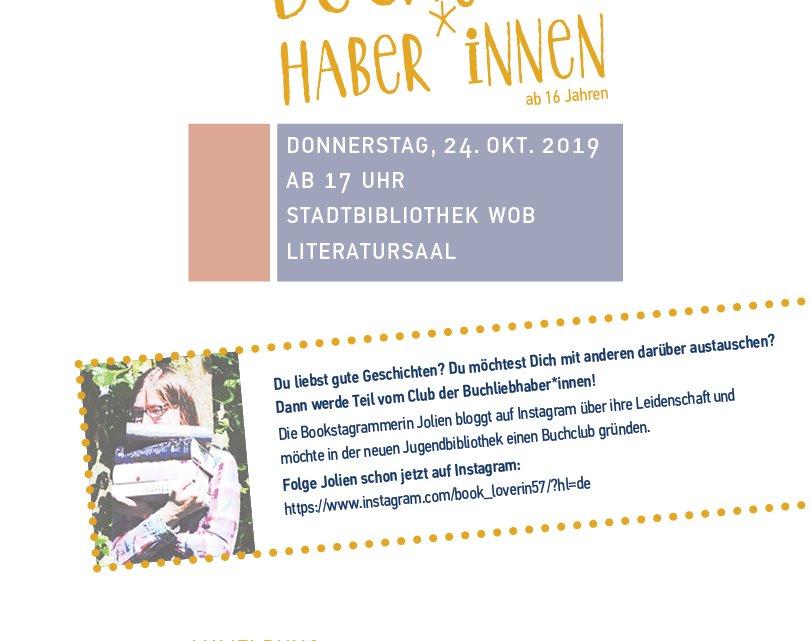 Einladung zum Club der Buchliebhaber*innen – Bildungshaus Wolfsburg
