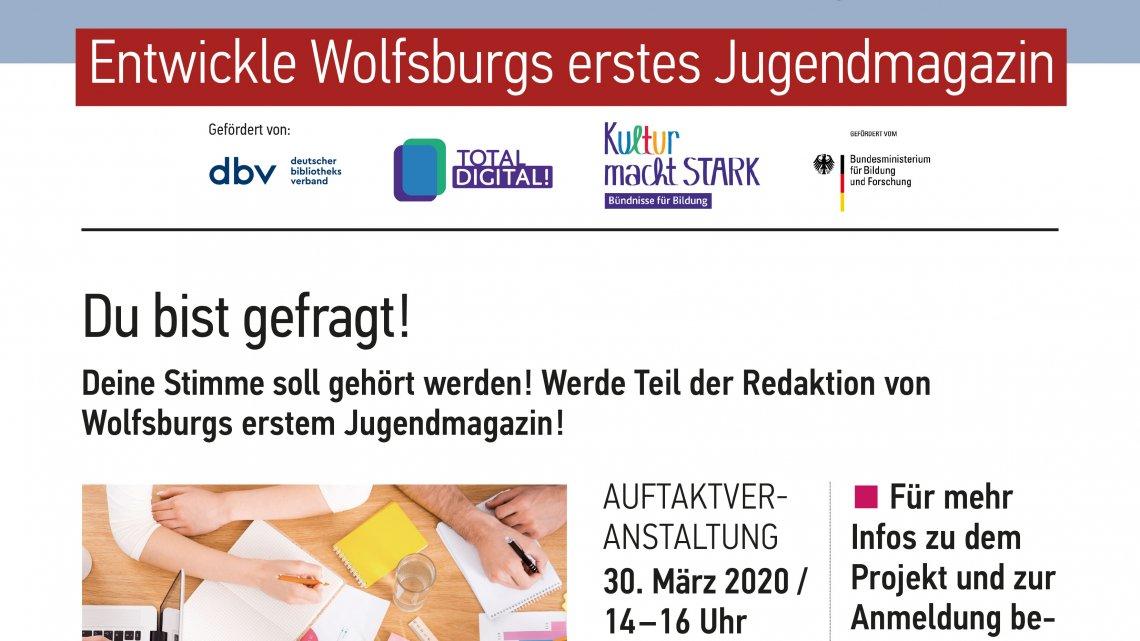 Youths News – Neues Projekt in der Stadtbibliothek Wolfsburg